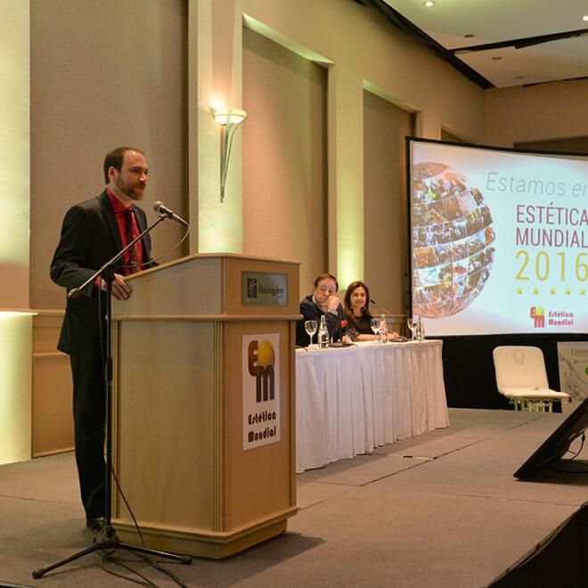 Conferencia en al marco del III Congreso Científico Internacional ESTÉTICA MUNDIAL 2016.
