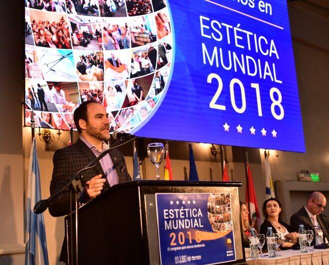 Ceremonia inaugural del V Congreso Científico Internacional ESTÉTICA MUNDIAL 2018.