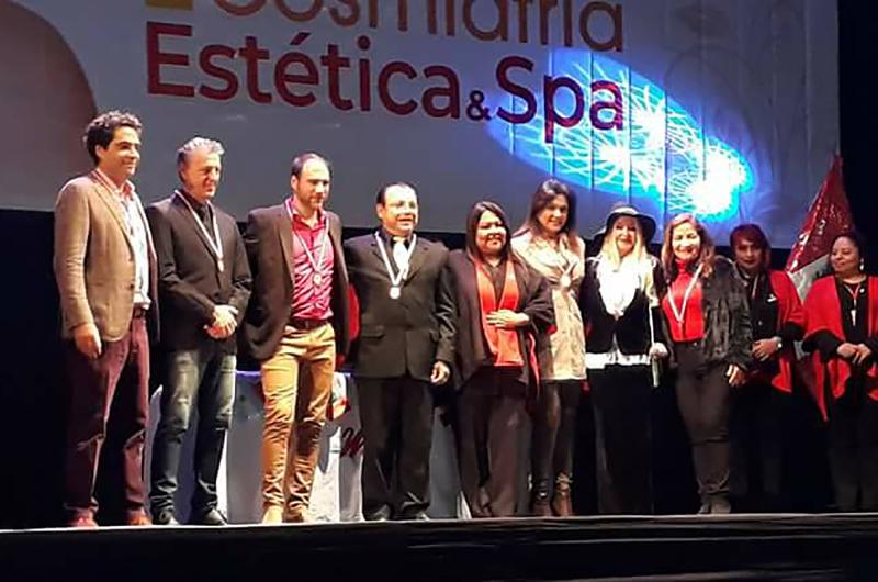 Congreso Internacional de Cosmiatría, Estética y Spa Mujeres en Acción, Lima, Perú, 2018.
