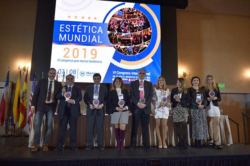 Comité Científico del VI Congreso Científico Internacional ESTÉTICA MUNDIAL 2019.